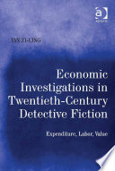 Economic Investigations In Twentieth Century Detective Fiction