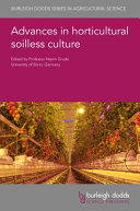 Advances in Horticultural Soilless Culture Book