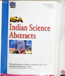 Indian Science Abstracts Book