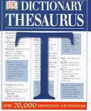 Dk Dictionary Thesaurus