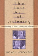 The Lost Art Of Listening Book