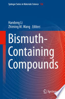 Bismuth Containing Compounds