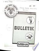 Bulletin   Holmes Safety Association Book
