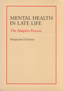 Mental Health in Late Life
