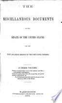 Senate documents Book