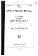 John Warwick Daniel