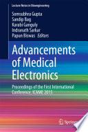 Advancements Of Medical Electronics Book PDF