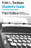 Student s Guide for Writing College Papers