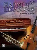 Harmony Lessons, Book 2 (Note Speller 4)