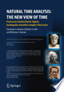 Natural Time Analysis: The New View of Time