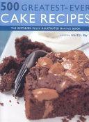 500 Greatest ever Cake Recipes