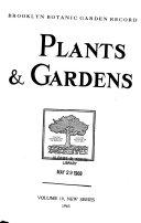 Plants   Gardens