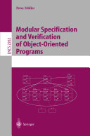 Modular Specification and Verification of Object Oriented Programs