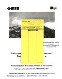 Proceedings Of The Ieee Instrumentation And Measurement Technology Conference Book PDF
