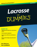 """Lacrosse For Dummies"" by Jim Hinkson, Joe Lombardi"