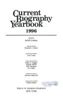 Current Biography Yearbook 1996 ebook