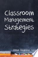 Classroom Management Strategies Book