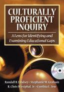 Culturally Proficient Inquiry