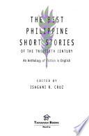The Best Philippine Short Stories of the Twentieth Century