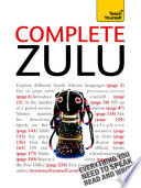 Complete Zulu Beginner to Intermediate Book and Audio Course
