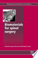 Biomaterials For Spinal Surgery Book PDF