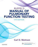 Cover of Ruppel's Manual of Pulmonary Function Testing