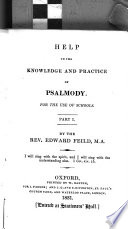 Help to the knowledge and practice of psalmody
