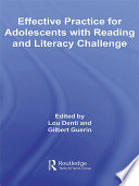 Effective Practice For Adolescents With Reading And Literacy Challenges