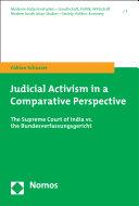 Judicial Activism in a Comparative Perspective
