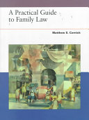 Practical Guide To Family Law