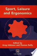 Sport Leisure And Ergonomics Book PDF