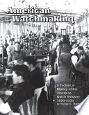 American Watchmaking