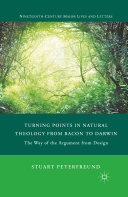Turning Points in Natural Theology from Bacon to Darwin Pdf/ePub eBook