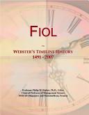 Fiol: Webster's Timeline History 1491 - 2007