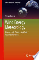 Wind Energy Meteorology Book PDF