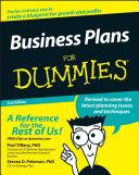Business Plans For Dummies [Pdf/ePub] eBook