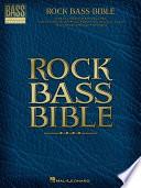 Rock Bass Bible  Songbook