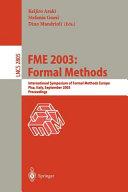 FME 2003  Formal Methods