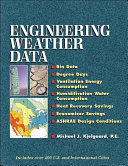 Engineering Weather Data Book