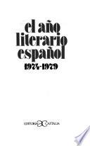 El Año literario español
