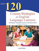 120 Content Strategies for English Language Learners Book