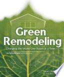 Green Remodeling Book PDF