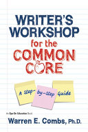 Writer's Workshop for the Common Core Pdf/ePub eBook