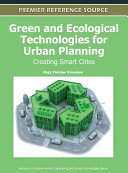 Green and Ecological Technologies for Urban Planning  Creating Smart Cities