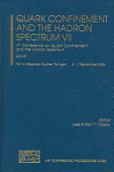 Quark Confinement And The Hadron Spectrum Vii