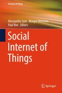 Social Internet of Things
