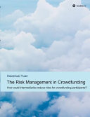 The Risk Management in Crowdfunding