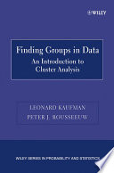 Finding Groups in Data
