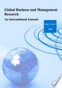 Global Business and Management Research: An International Journal Vol.2 No.1