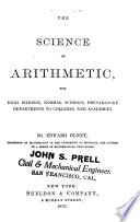 The Science of Arithmetic Book PDF